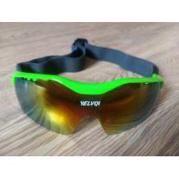 Спортивные очки на резинке  с 4 сменными линзами