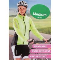 Велоджерси лайтовая влагозащитная зелёная женская