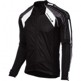 Велокуртка мембранная мужская Endura FS260-Pro Jetstream  чёрная