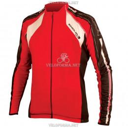 Велосипедная термокуртка Endura FS260-Pro Jetstream красная