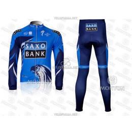Велоформа Saxo Bank 2012-1 длинная без лямок