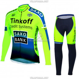 Велоформа Saxo Bank 2014 длинная без лямок