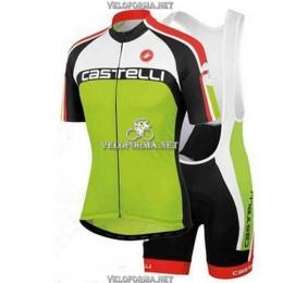 Велоформа Castelli 2014 зеленая