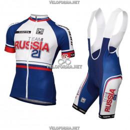 Велоформа Russia team 2015 с лямками