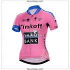 Велоформа Saxo Bank Tinkoff 2015 женская с лямками