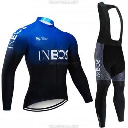 Велоформа Ineos 2020 синяя