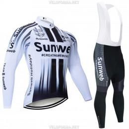 Велоформа Sunweb 2020 белая