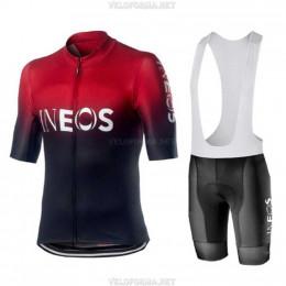 Велоформа Ineos 2020 красная с лямками