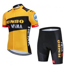 Велоформа Jumbo-Visma 2020 без лямок