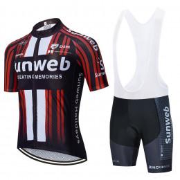 Велоформа Sunweb 2020 чёрная