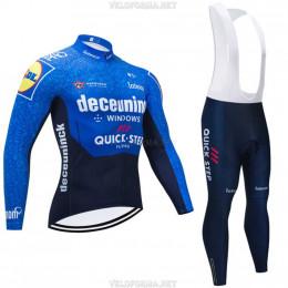 Велоформа Deceuninck - Quick-Step 2021 длинная