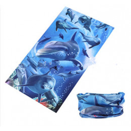 Бандана универсальная Dolphin