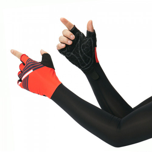 Велосипедные перчатки с рукавами