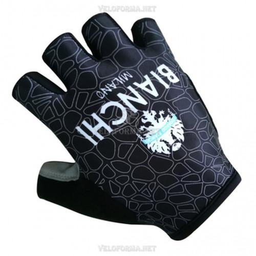 Велосипедные перчатки Bianchi чёрные