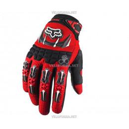 Велосипедные перчатки FOX красные