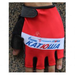 Велосипедные перчатки Катюша красные