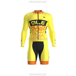 Велоформа Ale bubbles желтая без лямок