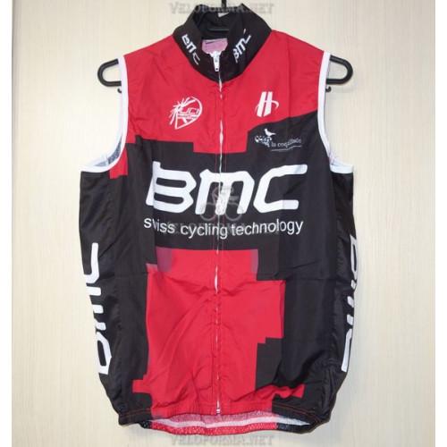 Велосипедный жилет BMC красный