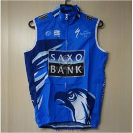 Велосипедный жилет Saxo Bank blue