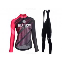 Утеплённая велоформа Bianchi 2017 женская без лямок