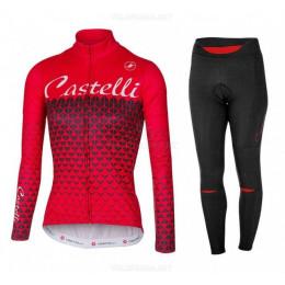 Утепленная велоформа Castelli 2017 женская без лямок
