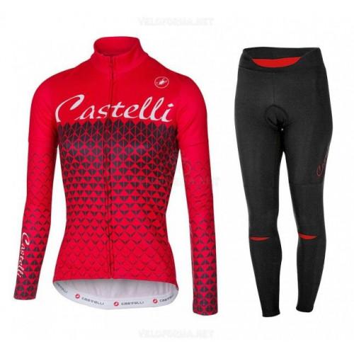 Утеплённая велоформа Castelli 2017 женская