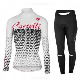 Велоформа Castelli 2017-3 женская длинная