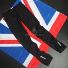 Зимние беговые штаны с ветрозащитой