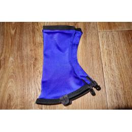 Гамаши беговые синие
