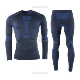 Термобельё спортивное мужское Crivit Sports Ski синее