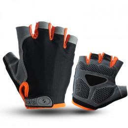 Велосипедные перчатки RG оранжевые