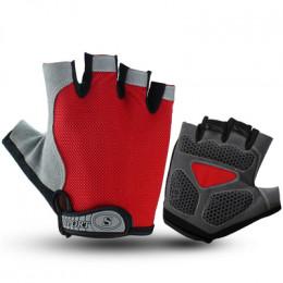 Велосипедные перчатки RG красные