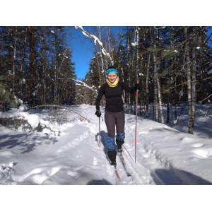 Обзор лыжного термобелья Crivitsport>